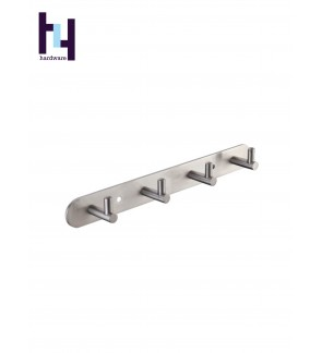 BATHROOM STEEL SUS304 SHELF CLOTH HANGER HOOK #HWBF89004