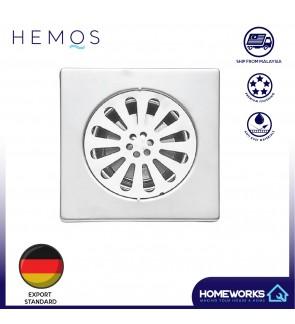 "HEMOS 150 x 150 6"" 304 STEEL FLOOR TRAP GRATING HM-106"
