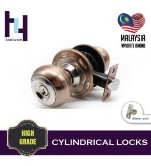 CYLINDRICAL HOUSE ROOM DOOR LOCK TOMBOL PINTU JC-8911 AC