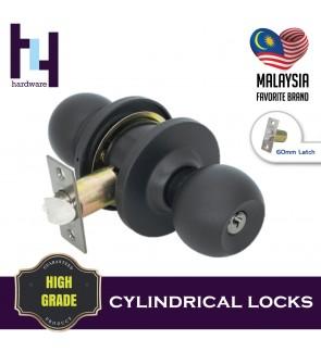 CYLINDRICAL HOUSE ROOM DOOR LOCK TOMBOL PINTU TC-9980 BH/MN