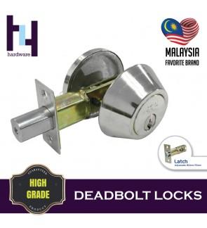 SINGLE DEADBOLT HOUSE DOOR LOCK CYLINDER TOMBOL PINTU RUMAH TC-7301