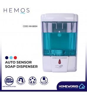 HEMOS AUTOMATIC SENSOR TOUCHLESS SOAP DISPENSER HM-88004-W