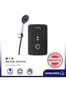BATHROOM INSTANT SHOWER WATER HEATER WITH PUMP WITHOUT PUMP MATT BLACK PEARL WHITE